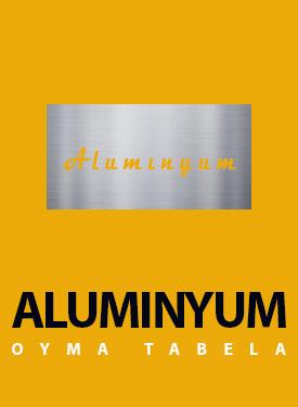 aluminyum tabela