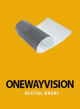 one way vision baskı uygulama